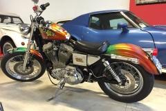 Harley Davidson 883 Custom Show Bike